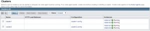 Demo Cluster config for testing sun-scheduler-bc  Quartz Persistent JobStore